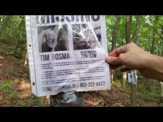 Man finds missing posters hanging from trees in the woods – Missing Persons of America