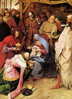 The Adoration of the Kings is an oil-on-panel painting of the Adoration of the Magi by the Netherlandish Renaissance artist Pieter Bruegel the Elder, painted in and now in the National Gallery, London. Renaissance Kunst, Renaissance Paintings, Pieter Brueghel El Viejo, Pieter Bruegel The Elder, National Gallery, The Birth Of Christ, Jesus Christus, Landsknecht, Peter Paul Rubens