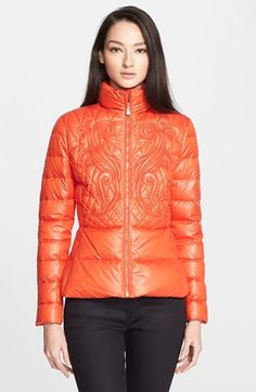 Versace Collection Quilted Puffer Coat available at #Nordstrom