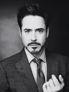 Robert Downy Jr. Ironman to the core.