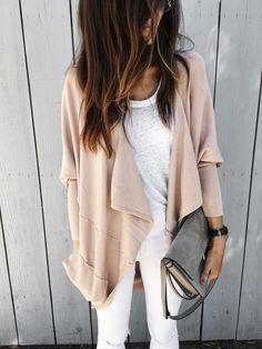 dusty pink cardigan - Stylin By AylinStylin By Aylin | Interior Design | Fashion | Lifestyle
