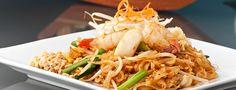 Thai Noodles at S&T Thai in Northbridge.