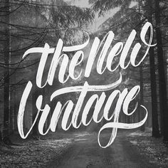 HAND TYPE – The New Vintage in Typography