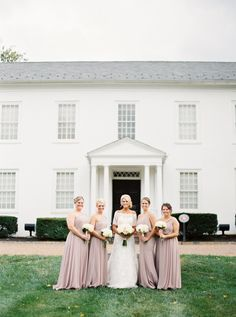 We are in love with this bridal party look! // JoPhoto
