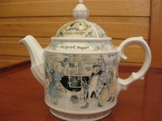 "Sadler Teapot ""PICKWICK PAPERS"""