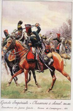 Cacciatori uniforme da campagna 1814