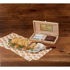 Cadeaux Tendance - Ensemble de 6 pièces de couteaux à steak