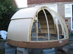 Hilltop Observatory - DIY Observatories - Stargazers Lounge Astronomical Observatory, Stargazing, Telescope, Astronomy, Outdoor Gear, Tent, Lounge, Patio, Outdoor Furniture
