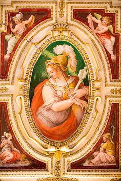 Detalle de la pintura del Vaticano