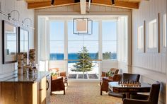 """Maine: Samoset Resort in Rockland  Samoset Resort sits on acres Maine coast, so gorgeous views of the Atlantic are a major draw. Active couples can play a few holes of golf, go ice skating, hit up the """"glacier ice bar,"""" or swim laps in the 200,000-gallon pool."""
