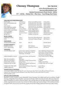 undefined resume examplesactingcareermenu - Resume Examples For Actors