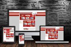Diseño web para empresa de sorteos y juegos de azar