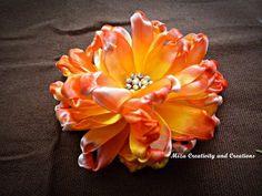 Flores em fita para aplicar | MEU MUNDO CRAFT