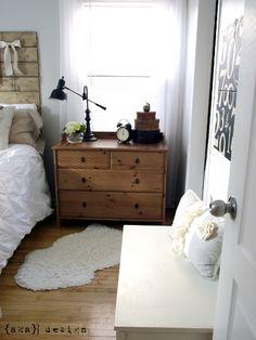 Cottage-y Master Bedroom
