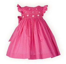 Fuchsia Floral High-Waist Dress - Baby Girls' Dresses, Baby Boys' Outifts