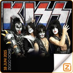 KISS | 18 juni 2015 | Ziggo Dome, Amsterdam