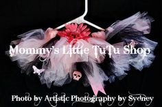 The first Pink Punk tutu I made.  You can see more examples on the MLTS facebook page or see what is available for purchase in the MLTS Etsy store.