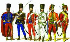 Granicari (panduri) iz 1756
