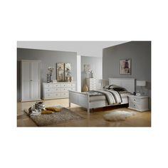 Tvilum Bett Schlafzimmer Paris 180x200cm weiß - Betten günstig ...