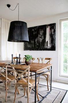 Best Interior, Home Interior Design, Interior Architecture, Rustic Industrial, Modern Rustic, Dining Room, Dining Table, Scandinavian Modern, Minimal