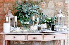 [ Elegant Bucolic Tuscany Wedding Olga Sende Real Weddings ] - Best Free Home Design Idea & Inspiration Wedding Sweets, Wedding Candy, Rose Wedding, Wedding Table, Reception Table, Wedding Reception, Lakeside Wedding, Rustic Wedding, Tuscan Wedding