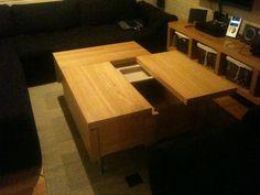 IKEA Hackers: Malm Coffee table