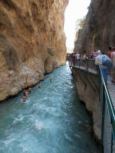 Saklikent Gorge, Fethiye, Turkey