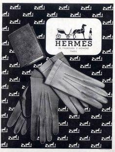 L'Officiel December 1946 Hermès Gloves Retro Advertising, Vintage Advertisements, Vintage Ads, Vintage Designs, Vintage Gloves, Vintage Graphic, Vintage Posters, Vintage Purses, Vintage Handbags