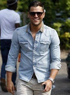 TOWIE...Mark Wright! Love that cheeky smile!