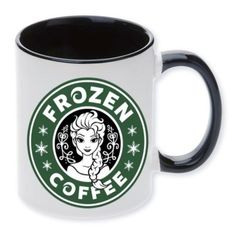 Disney-Elsa-Mug-Cup-Starbucks-Princess-Coffee-I-love-coffee-Frozen-gift