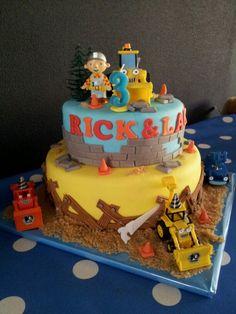 Glutenvrije Bob de Bouwer taart!!!
