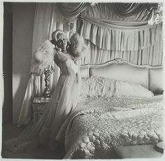 Mae West in her Bedroom , Santa Monica, California, 1965