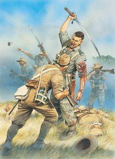Teniente Geoge Cairnes. Chindits.
