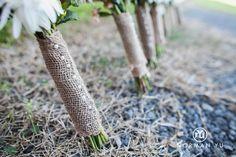 wedding details.  bridesmaids bouquet