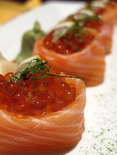 Salmon and Ikura Sushi                                                                                                                                                                                 More