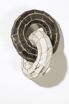 Jason Fitzgerald - Circles, 2012 - Timber, acrylic paint