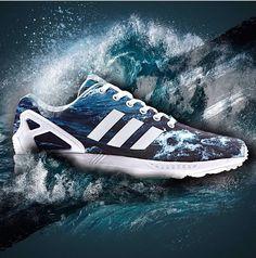 Adidas Ocean Wave ZX Flux