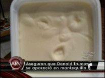Mujer En Missouri Asegura Que Se Le Apareció La Cara De Donald Trump En Su Mantequilla #Video