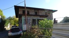 Residential building in the town of Kazanlak, Bulgaria 10.2017.