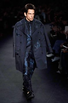 Zoolander at VALENTINO AW2015 FACES Runway http://www.faces.ch/runway