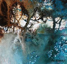 A touch of silver in the hedge « Ann Blockley Watercolor Trees, Watercolour Painting, Hedges, Landscape Paintings, Ann, Art Prints, Artwork, Outdoor, Touch