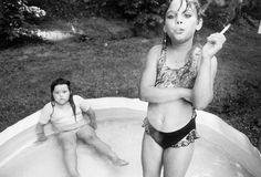 Mary Ellen Mark, Amanda and her Cousin, Amy Valese, North Carolina, 1990