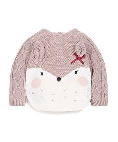 Knitted Deer Jumper | knitwear | Mothercare
