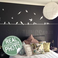 Welcome to StickyThings Wall Stickers South Africa - we offer wall stickers also known as wall decals, vinyl wall decals, wall art and even wall tattoos! Vinyl Wall Decals, Wall Stickers, Wall Tattoo, House Rooms, Africa, Wire, Room Decor, Wall Art, Wall Clings