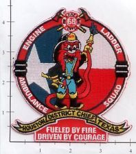 Texas - Houston Station 68 TX Fire Dept Patch