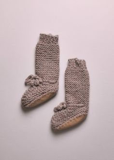 TALL DAY HIKE KNIT BOOTIES