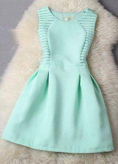 Cute mint/aqua dress