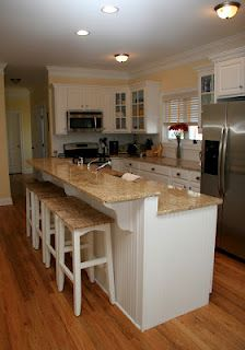 Bright, open layout Kitchen. Love the warmth the kitchen radiates. Go to myctdreamhome.com for more information! Home, Open Layout, House Design, Kitchen Designs Layout, Home Goods, Kitchen, Kitchen Layout, My House