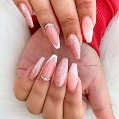 41 New French Manicure Designs To Modernize The Classic Mani Zebra Nail Designs, Light Pink Nail Designs, Zebra Nail Art, Silver Nail Designs, Elegant Nail Designs, Matte Pink Nails, Light Pink Nails, Pink Acrylic Nails, New French Manicure