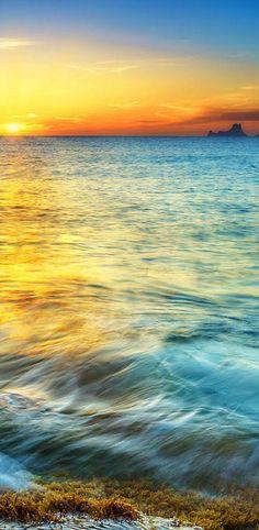 Sunset, Formentera island, Spain